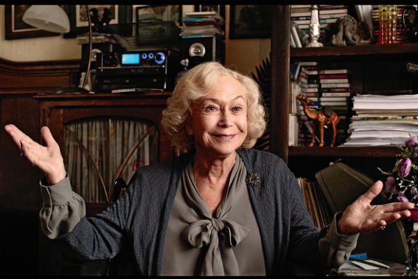 В 81 год актриса продолжает активно сниматься. Кадр из фильма «Ван Гоги»
