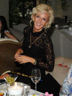 Ольга Бузова выбрала для вечера платье собственного дизайна