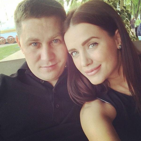 Юлия Ионина с мужем