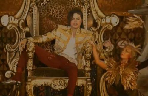 Голограмма Майкла Джексона