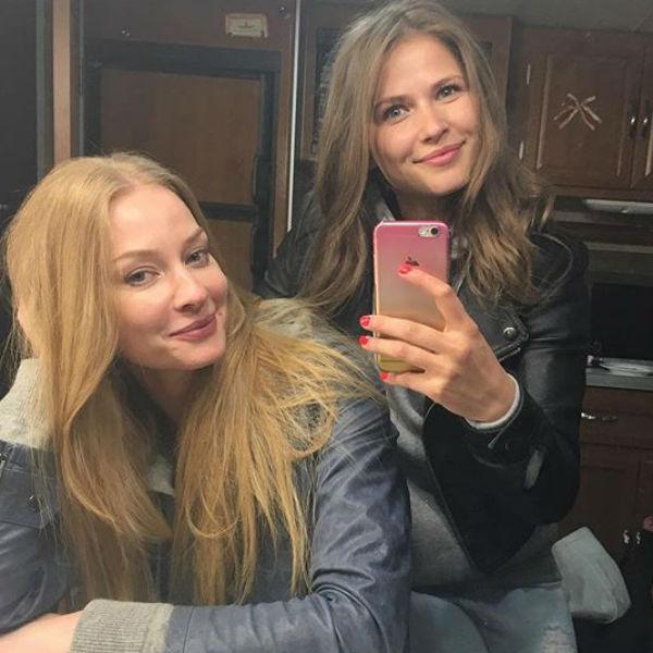 Актриса работает над новым сериалом телеканала СТС со Светланой Ходченковой