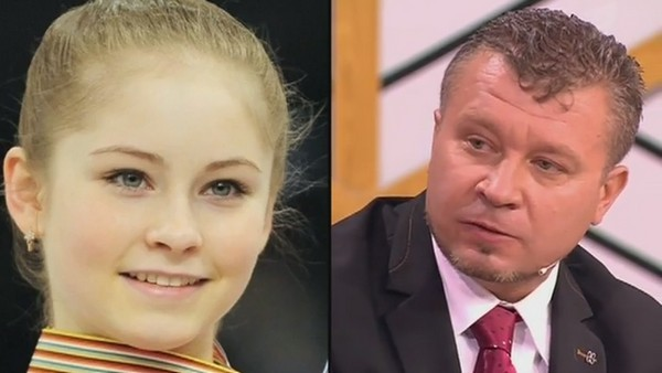 Многие отметили, что Юлия Липницкая внешне похожа на Вячеслава