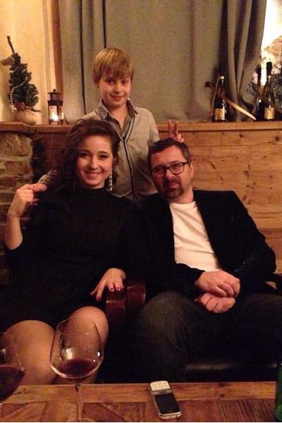 Алексей Рыжов с семьей встречает Новый год