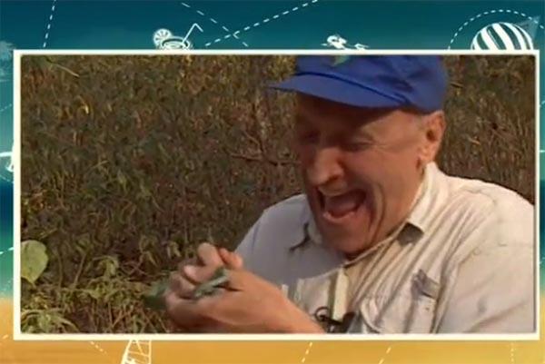 Николай Дроздов не боялся укусов змеи