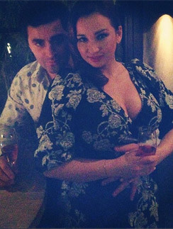 Анфиса Чехова с мужем Гурамом Баблишвили