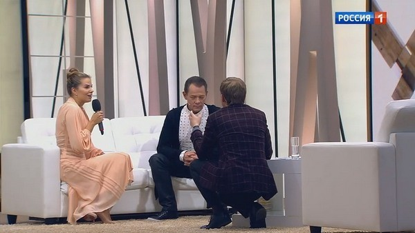 Ольга Мартынова и Вадим Казаченко в передаче Бориса Корчевникова