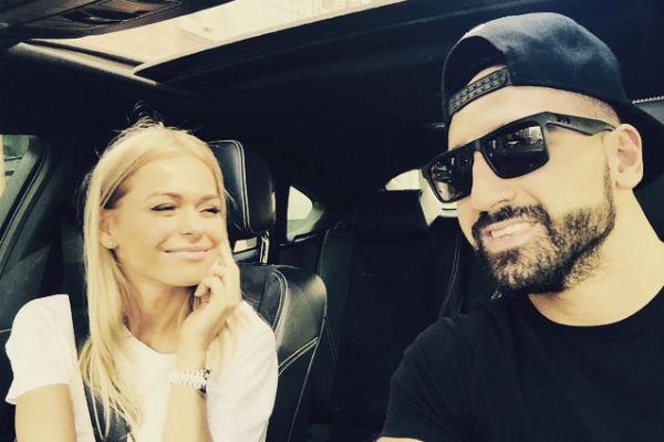Анна Хилькевич с мужем Артуром