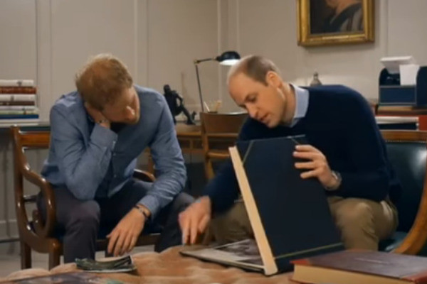 Принцы Уильям и Гарри поделились воспоминаниями о маме