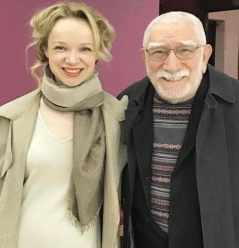 Виталина Цимбалюк-Романовская и Армен Джигарханян