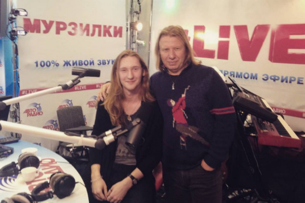 Виктор и его подопечный Александр Иванов готовятся к Евровидению