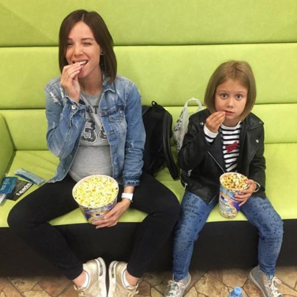 С дочерью Ивана Машей Лилия нашла общий язык