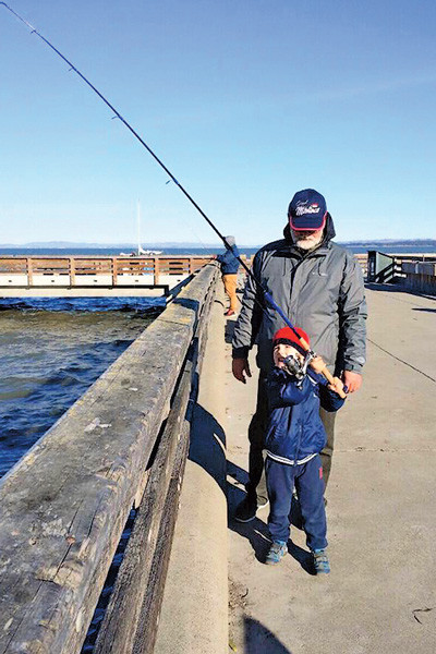 Литвин на рыбалке с Вовой 16 декабря 2015 года