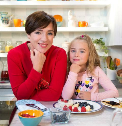 Тутта Ларсен с дочерью Марфой