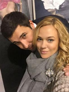 Ксения Безуглова с мужем Алексеем