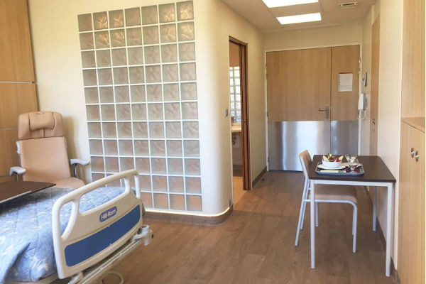 В больнице есть как палаты эконом-класса, так и люксовые апартаменты