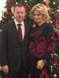 Мария Максакова с мужем Денисом Вороненковым