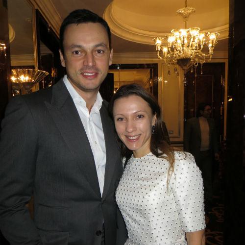 Евгений Демин и   Елена Белоу
