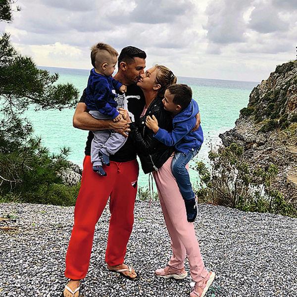 Дарья и Сергей с детьми планируют жить на две страны