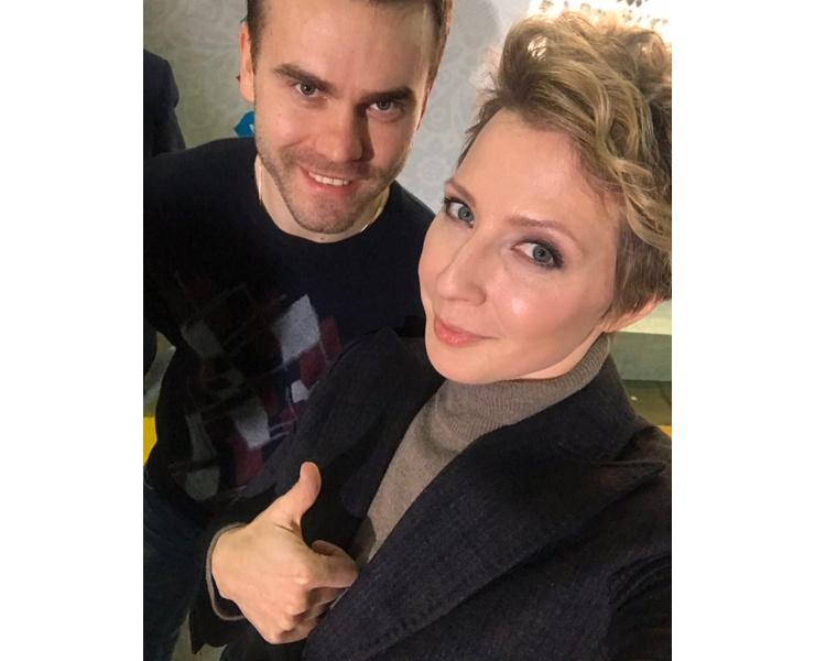 Яна Чурикова и Игорь Акинфеев