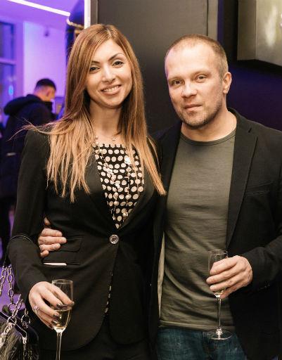 Евгений Рудин с женой