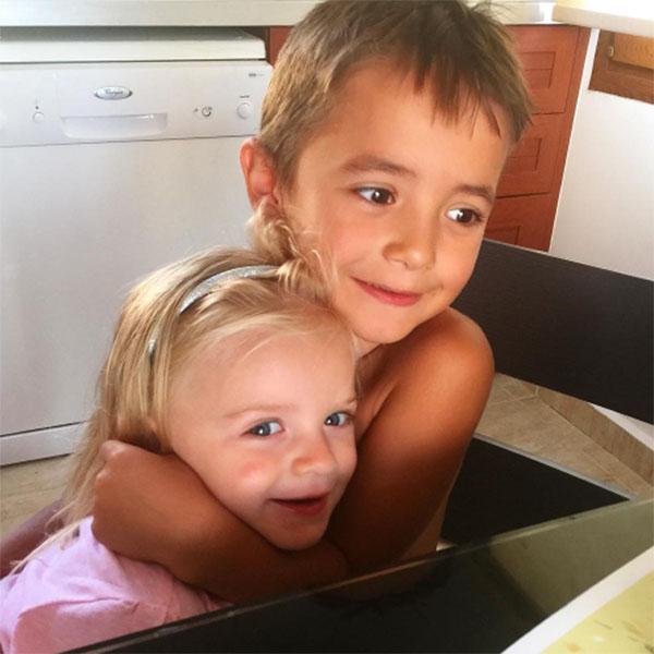 Внуки Ирины Бэлла и Митя