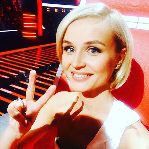 В новом сезоне шоу «Голос» Полина стала членом жюри