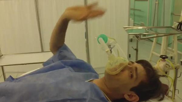 Александр Шепс перед операцией