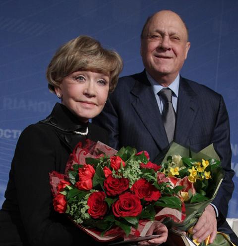 Вера Алентова и Владимир Меньшов