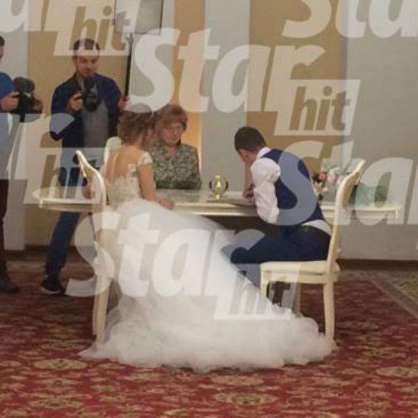 Диана и Андрей официально стали мужем и женой