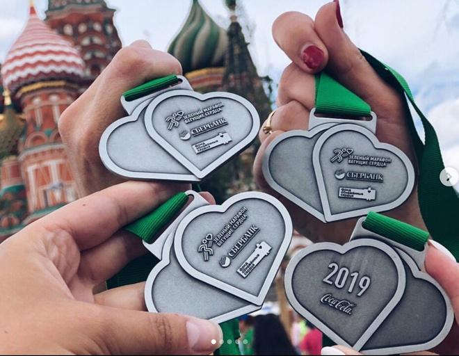 Участники забега получили памятные призы