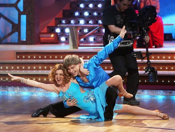 Ксения Бородина уже пробовала силы в «Танцах со звездами» в паре с Александром Головиным