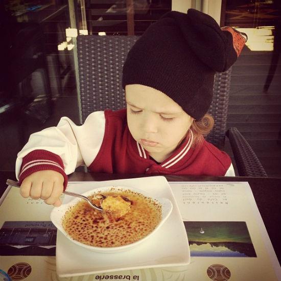 Богдана не впечатлила местная кухня, а вот его мама в восторге