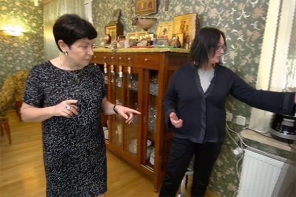 Так выглядела кухня-гостиная Ларисы Гузеевой до ремонта