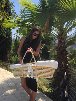 Кети Топурия проводит декретный отпуск в Лос-Анджелесе