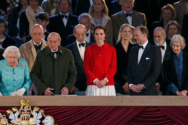 Праздник в честь королевы Елизаветы II в Виндзорском замке