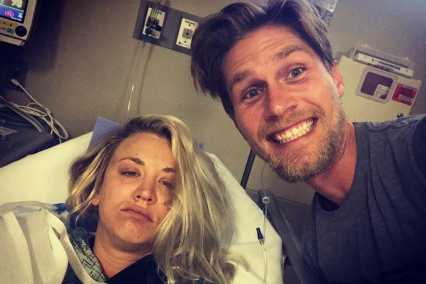 Актриса уже вернулась домой после операции