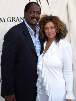 Родители Бейонсе - Мэтью и Тина в 2003 году