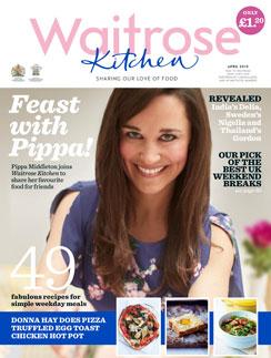 Пиппа на обложке журнала с ее колонкой
