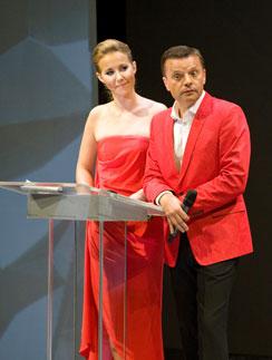 Ксения Собчак и Леонид Парфенов