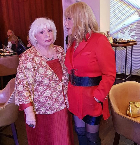 Алина Редель и Алла Пугачева
