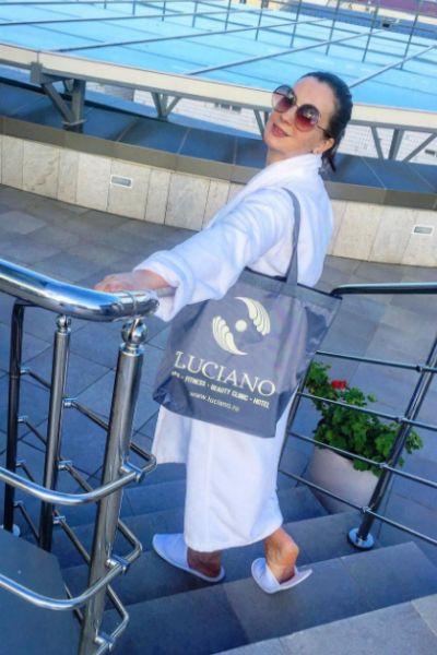 Екатерина проводит отпуск в спа-комплексе