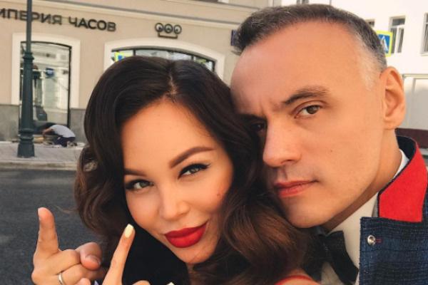 Анастасия Лисова с супругом Михаилом