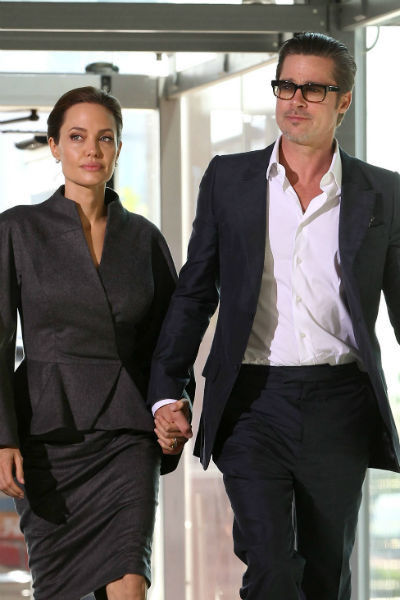 Анджелина Джоли и Брэд Питт уже много лет идут по жизни вместе