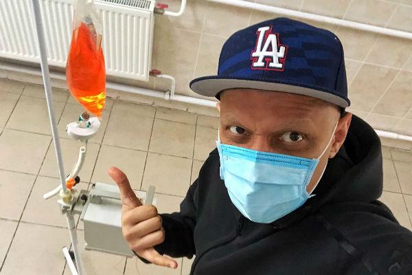 Эд Мацаберидзе во время химиотерапии