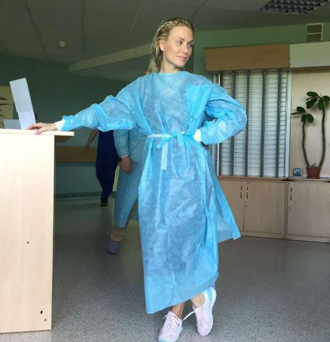 Катя Гордон перед операцией