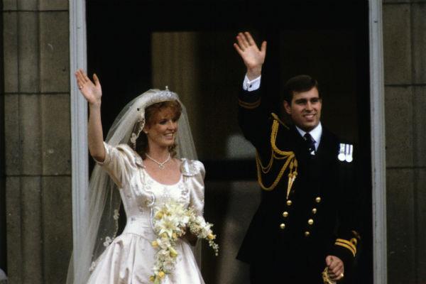 Свадьба герцогов Йоркских. 1986 год