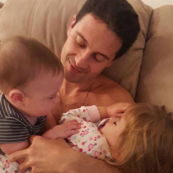 У Виктории и Антона подрастает двое детей