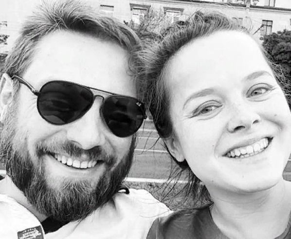 Наталия с супругом Александром Коптелем