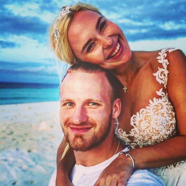 Пелагея и Иван Телегин стали мужем и женой в 2016 году