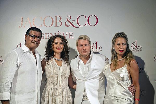 Джейкоб и Анжела Арабо, Николай Басков